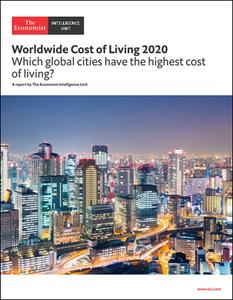 The Economist (Intelligence Unit) - Worldwide Cost of Living 2020 (2020)