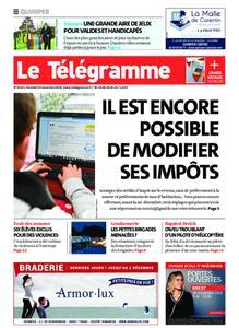 Le Télégramme Quimper – 29 novembre 2019