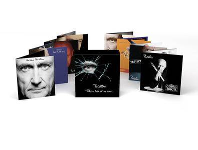 Phil Collins - Take a Look at Me Now... - The Complete Studio Collection (2017) {8CD Box Set Atlantic-Warner 0603497865192}