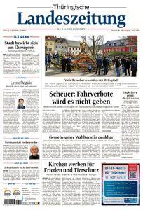 Thuringische Landeszeitung Gera - 03. April 2018