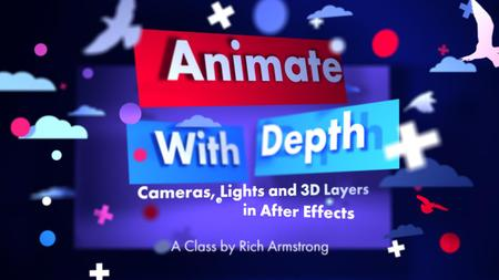 Animate with Depth: Cameras, Lights and 3D Layers in After Effects