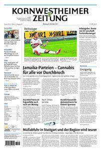Kornwestheimer Zeitung - 30. Oktober 2017