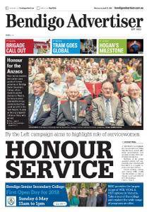 Bendigo Advertiser - April 25, 2018