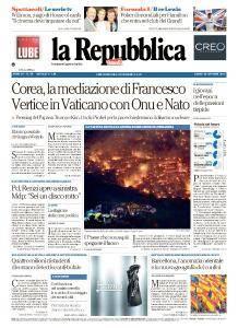 la Repubblica - 30 Ottobre 2017