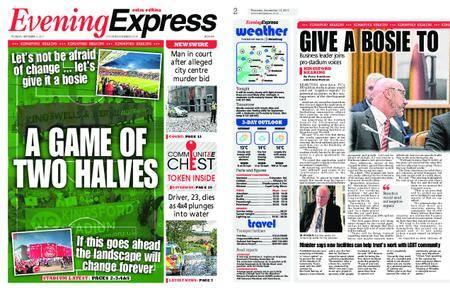 Evening Express – September 14, 2017