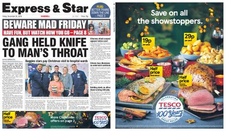 Express and Star Sandwell Edition – December 20, 2019