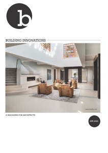 Building Innovations - April 2020