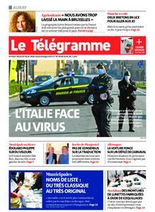 Le Télégramme Auray – 25 février 2020