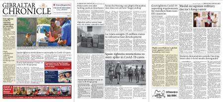 Gibraltar Chronicle – 15 August 2020