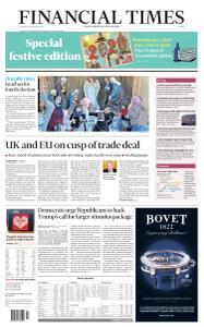 Financial Times Europe - December 24, 2020