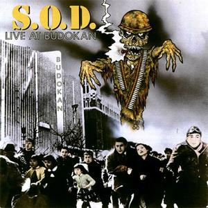 S.O.D. - Live At Budokan (1992) {Megaforce}