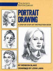 Portrait Drawing: A Step-By-Step Art Instruction Book [Repost]