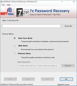 eSoftTools 7z Password Recovery 2.5