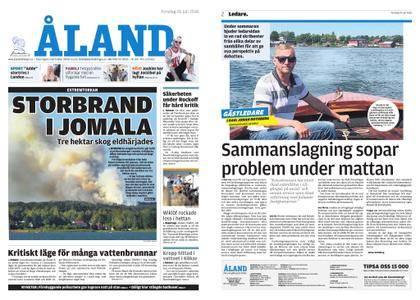 Ålandstidningen – 26 juli 2018