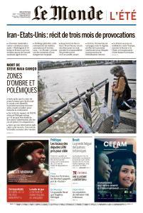 Le Monde du Jeudi 1er Août 2019