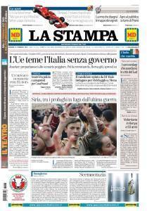 La Stampa Torino Provincia e Canavese - 23 Febbraio 2018