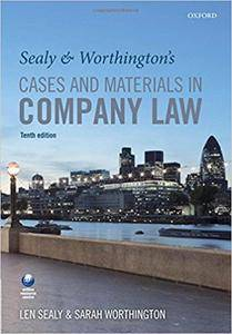 Sealy and Worthington's Cases and Materials in Company Law (Repost)