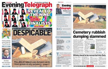 Evening Telegraph First Edition – December 03, 2019