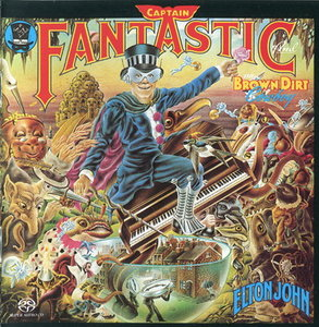 Elton John - Captain Fantastic And The Brown Dirt Cowboy (1975) [Reissue 2004] MCH PS3 ISO + Hi-Res FLAC