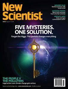 New Scientist - August 18, 2018