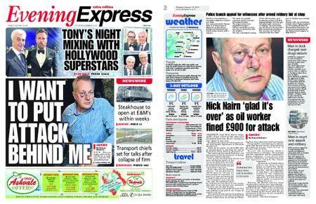 Evening Express – January 16, 2018