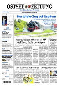 Ostsee Zeitung Wolgast - 30. April 2018
