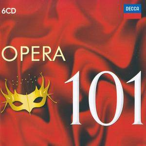 Various Artists - 101 Opera (2016) {6CD Box Set Decca 478 2998 rel 2011}