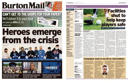 Burton Mail – March 24, 2020