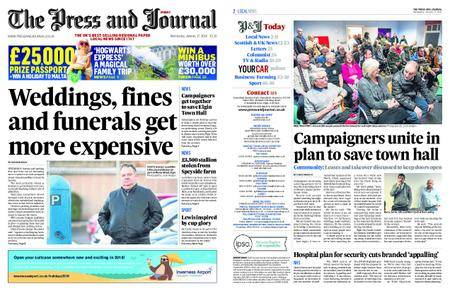 The Press and Journal Moray – January 17, 2018