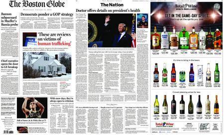 The Boston Globe – January 17, 2018