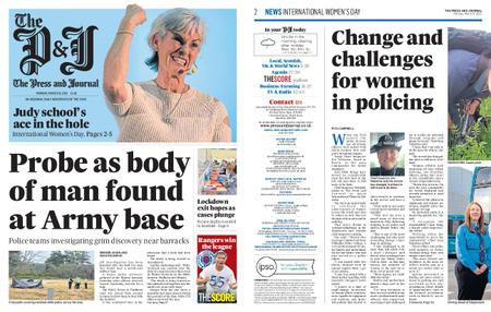 The Press and Journal Moray – March 08, 2021
