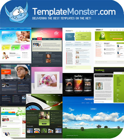 Template Monster Flash Templates Pack 2 3 4