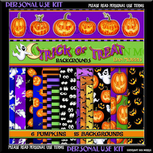 Scrap Kit: Trick or Treat