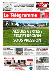 Le Télégramme Brest Abers Iroise – 02 juillet 2021