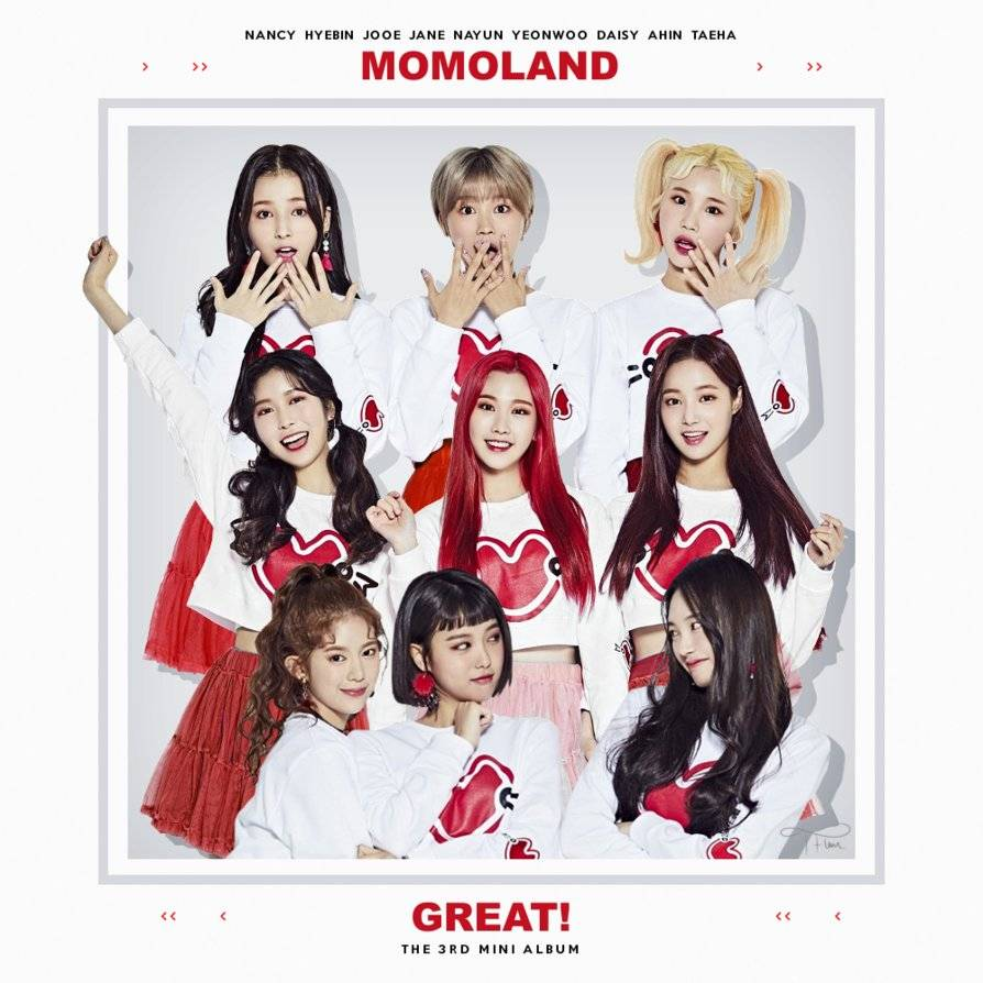 Momoland - Great! (Korea mini-LP) (2018) {Dublekick Company/LOEN Entertainment}