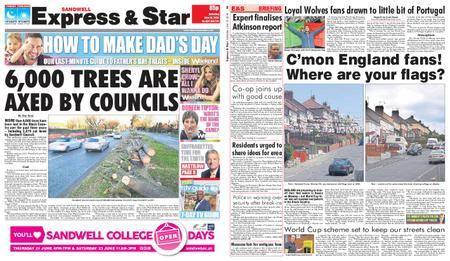 Express and Star Sandwell Edition – June 16, 2018