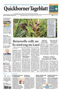 Quickborner Tageblatt - 27. Juni 2020
