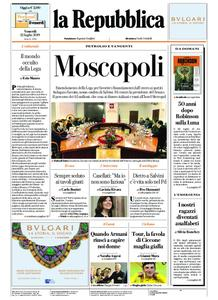 la Repubblica – 12 luglio 2019