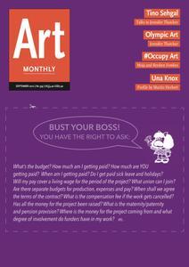 Art Monthly - September 2012   No 359