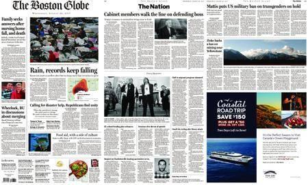 The Boston Globe – August 30, 2017