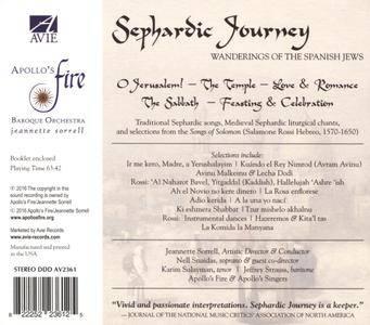 VA - Apollo's Fire: Sephardic Journey: Wanderings of the Spanish Jews (2016)