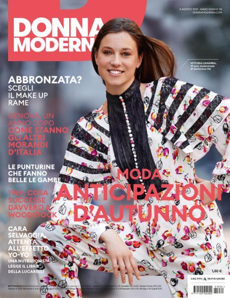 Donna Moderna N.34 - 8 Agosto 2019