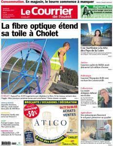 Le Courrier de l'Ouest Cholet - 20 Octobre 2017