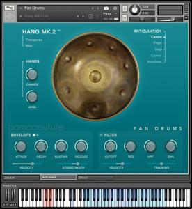 Soniccouture Pan Drums v1.1.0 KONTAKT