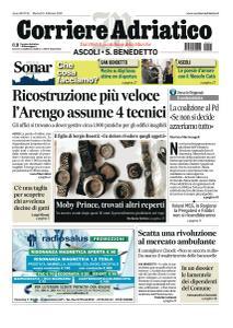 Corriere Adriatico Ascoli - 11 Febbraio 2020