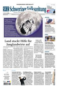 Schweriner Volkszeitung Hagenower Kreisblatt - 16. Juli 2019