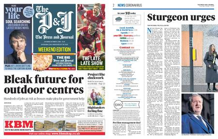 The Press and Journal Moray – October 03, 2020