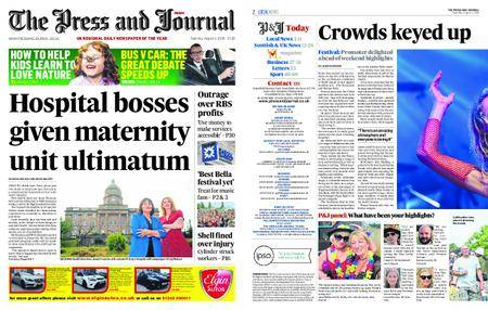 The Press and Journal Moray – August 04, 2018