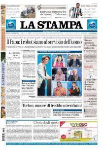 La Stampa Torino Provincia e Canavese - 23 Gennaio 2018