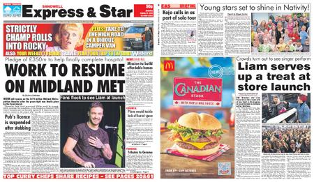 Express and Star Sandwell Edition – October 12, 2019
